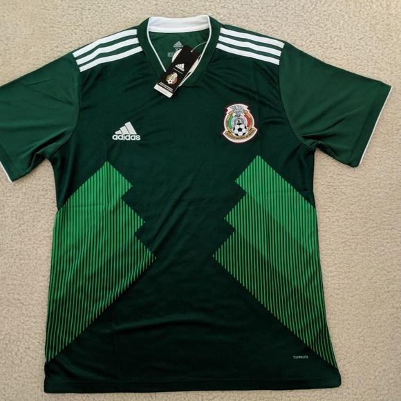 35afa7cd783 adidas Shirts | 2018 Mexico Home World Cup Jersey | Poshmark